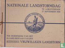 Nationale Landstormdag te 's Gravenhage 27 September 1928