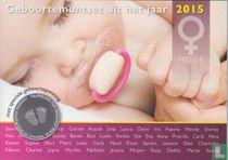 "Netherlands mint set 2015 ""Baby set girl"""