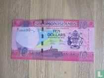 Solomon Islands 10 Dollars, ND 2017