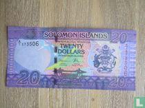 Solomon Islands 20 Dollars, ND(2017