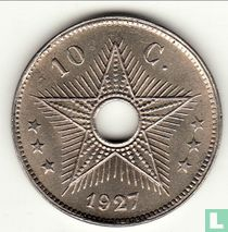 Belgian-Congo 10 centimes 1927