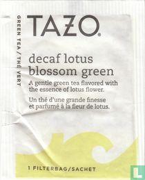 decaf lotus blossom green