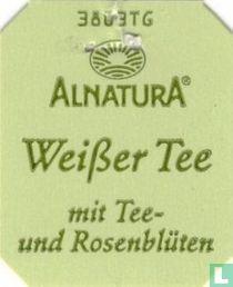 Alnatura Weißer Tee mit Tee-und Rosenblüten