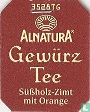 Alnatura Gewürz Tee Süßholz-Zimt mit Orange