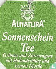 Alnatura Sonnenschein Tee Grüntee und Zitronengras mit Holunderblüte und Lemon Myrtle