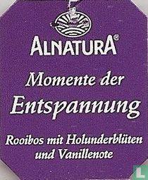 Alnatura Momente der Entspannung Rooibos mit Holunderblüten und Vanillenote