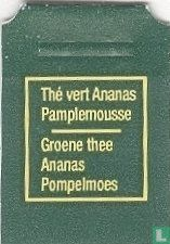 Carrefour / Thé vert Ananas Pamplemousse Groen thee Ananas Pompelmoes