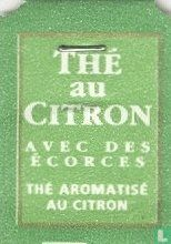 Carrefour - Thé au Citron Avec des ecorces Thé aromatisé au citron