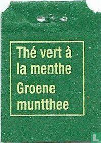 Carrefour / Thé Vert à la menthe Groene muntthee