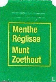 Carrefour / Menthe Réglisse Munt Zoethout