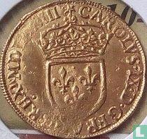 France 1 gold ecu 1573 (A)
