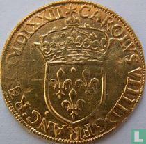 France 1 gold ecu 1572 (A)