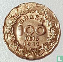 Brazilië 100 réis 1942