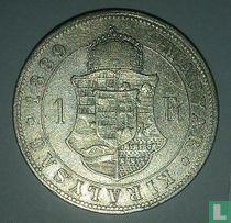 Hongarije 1 forint 1889