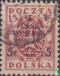 Eerste Poolse postzegeltentoonstelling