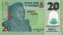 Nigeria 20 Naira 2018