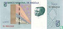 Angola 5 Kwanzas 2012