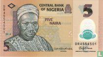 Nigeria 5 Naira 2016