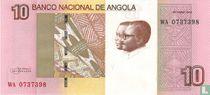 Angola 10 Kwanzas 2012