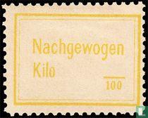 Opklever - Gewicht in kilo