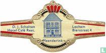 Meenderink - D.J. Scholten Hotel Café Rest. - Lochem Bierstraat 4
