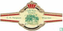 Café Rest. Slijterij Zomerlust - C.H. Vergouw - Woerden
