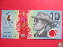 Australië 10 Dollars 2017