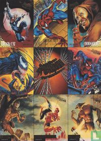 Marvel Fleer Ultra Spider-Man Premiere Edition 8 Card Promo Sheet Uncut