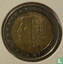 Netherlands 2 euro 2001 (punching error)