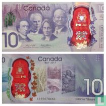 Canada 10 Dollars 2017 Commemorative