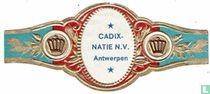 Cadix-natie N.V. Antwerpen