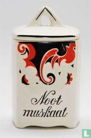 Kruidenpot Nootmuskaat decor Faust