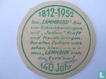 140 Jahre Lammbräu