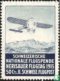 Flugzeug über Herisau