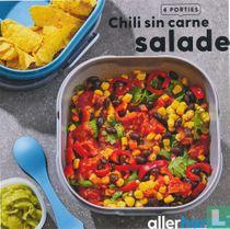 Chili sin carne salade