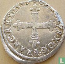 France ¼ ecu 1593 (T)
