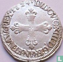France ¼ ecu 1624 (C)