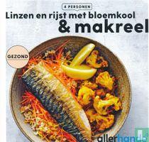 Linzen en rijst met bloemkool & makreel