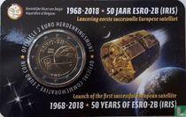 "Belgium 2 euro 2018 (coincard - NLD) ""50 years Launch of the first successful European Satellite ESRO - 2B"""