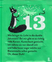 13 Neujahrstee
