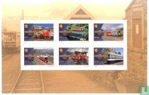 Manx Electric Railway 125 years self-adhesive block