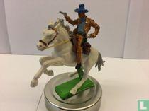 Cowboy te paard