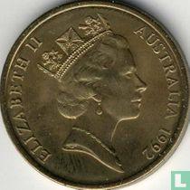 "Australië 5 dollars 1992 ""International Year of Space"""