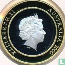 "Australië 10 dollars 2000 (PROOF) ""Millennium - The Present"""
