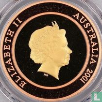 "Australië 10 dollars 2001 (PROOF) ""Millennium - The Future"""
