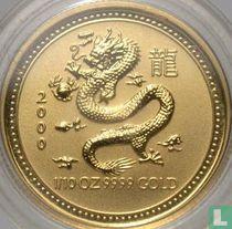 "Australië 15 dollars 2000 ""Year of the Dragon"""