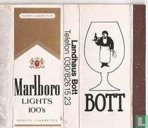 Marlboro Lights 100's / Bott
