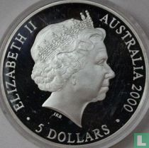 "Australia 5 dollars 2000 (PROOF) ""Summer Olympics in Sydney - Koala"""