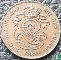 België 2 centimes 1864