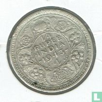Brits-Indië ¼ rupee 1943L (Security)